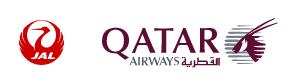 合成JAL-QATAR